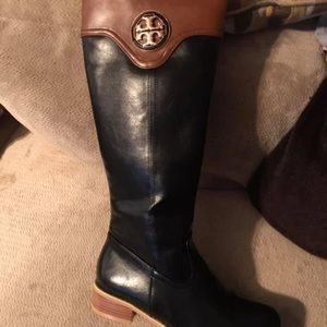 2 pair of new without tags/box Tory Burch boots.